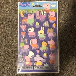 Kids Peppa Pig 56 Stickers Brand New